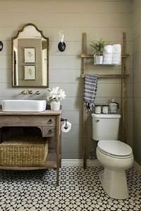 Meuble Vasque Retro : design interieur salle bain campagne meuble vasque ancien carrelage r tro salle de bain ~ Teatrodelosmanantiales.com Idées de Décoration