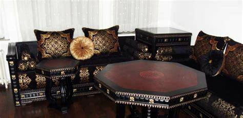 tissu canapé marocain tissus de salon marocain salon marocain