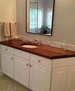 Butcher Block Countertops In Bathroom - Bathroom Design Ideas
