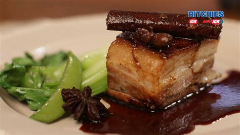 when is pork done twice cooked crispy pork belly oven baked with star anise and ginger love food