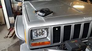 45w Led Headlight With Drl For Xj   100 A Pair