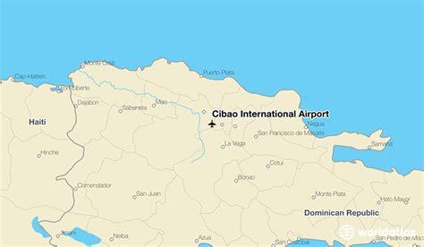 cibao international airport sti worldatlas