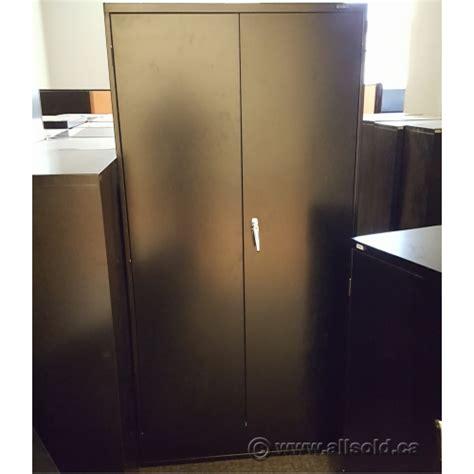 2 door metal storage cabinet global black 36 x 72 2 door metal storage cabinet locking