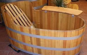 Pont De Baignoire Bois : baignoires bois ~ Premium-room.com Idées de Décoration