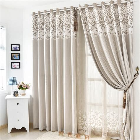 Simple And Modern Office Curtains For Living Room