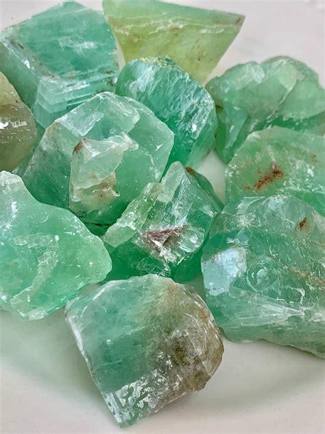 Green Calcite - PrismsScape Gems & Healing Center