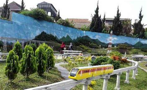 taman miniatur kereta api lembang  keren gravity adventure rafting arung jeram