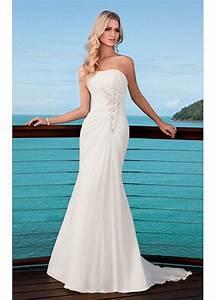 robe de mariage parfait pour la mariee de mode dressilyme With robe asymétrique pour mariage
