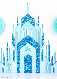 DIY Frozen Inspired Birthday Party Backdrop - Party Ideas