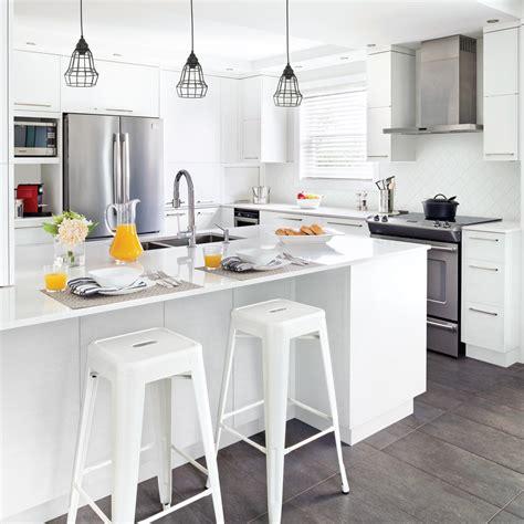 cuisine minimaliste cuisine blanche minimaliste cuisine inspirations