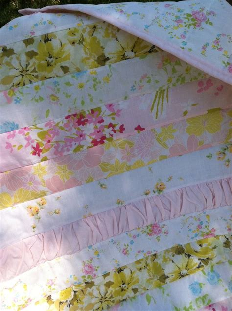 shabby chic now shabby chic baby girl quilt vintage linens loving these colors for the nursery now on the