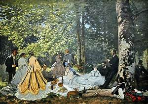 Monet Luncheon On The Grass | www.pixshark.com - Images ...