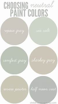 what are the neutral colors Choosing neutral paint colors for the new house - Christinas Adventures