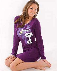Womens Night Bauhaus : new ladies camille knee length night shirt long sleeve cotton snoopy nightie ebay ~ Eleganceandgraceweddings.com Haus und Dekorationen