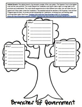three branches of government worksheet three branches of government lesson and worksheets by