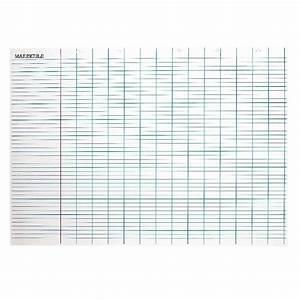 Grand Tableau Blanc : panneau blanc effacable a sec 100x140cm grand carreaux ~ Teatrodelosmanantiales.com Idées de Décoration