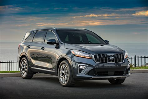 2019 kia sorento debuts with cross gt inspired facelift and 8sp auto loses turbo four carscoops