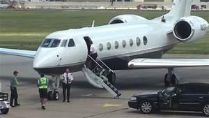 Gulfstream G550 With Jay Z Avery Johnson New Jersey Nets