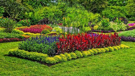 Imágenes De Jardines Muy Coloridos  Fotos E Imágenes En