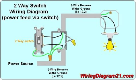 Way Light Switch Wiring Diagram House Electrical