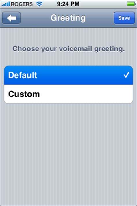 iphone default voicemail greeting how to setup visual voicemail on the iphone iclarified