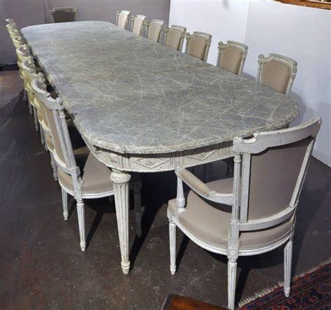 louis xvi table large antique 19th century louis xvi painted dining