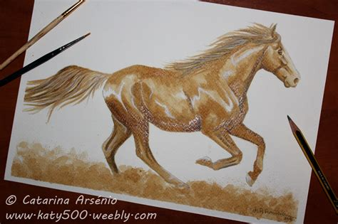 Horse Coffee Painting By Katy500 On Deviantart Cup Of Coffee Wallpaper Bean Menu Promotion In Manila Flat White France With Extra Shot Phrase Nautical Price List