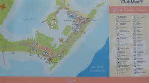 Club Med Cancun Map