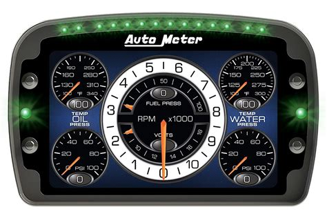 Auto Meter Releases Lcd Competition Race Dash