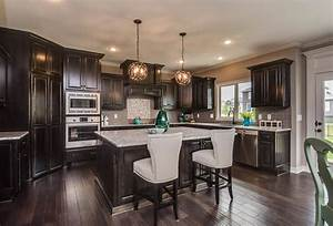 black stained kitchen cabinets 2045