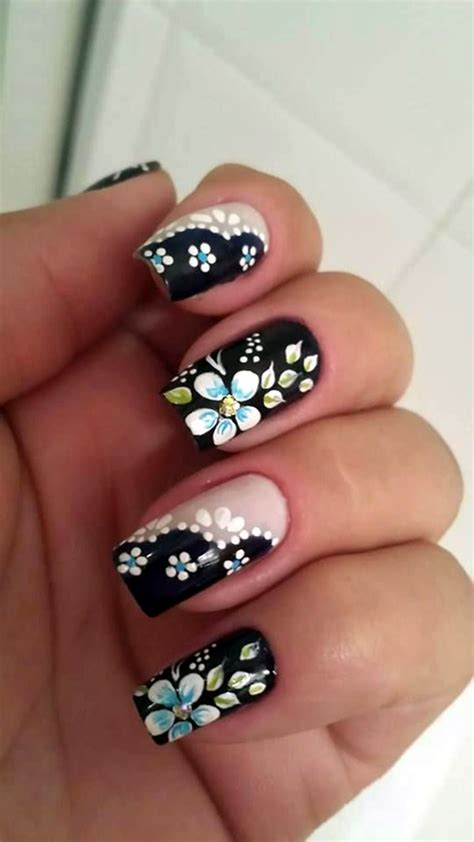 flower nail design 101 flower nail designs that re attractive to handle