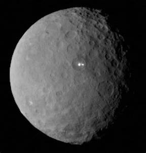 Bright Spots on Ceres Intrigue Scientists - Sky & Telescope