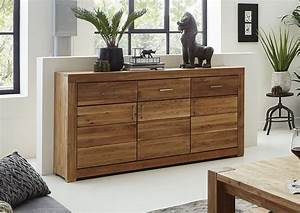 Sideboard Wildeiche Massiv Geölt : berlin sideboard 01 160x40x88 wildeiche massiv natur ge lt ~ Watch28wear.com Haus und Dekorationen