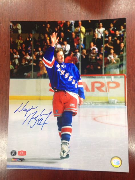 wayne gretzky framed personalized last game print 11x14 ice personal collection