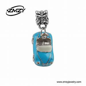 Charmes Automobile : latest design enamel blue car charm pendants beads diy metal beads fits pandora charm bracelet ~ Gottalentnigeria.com Avis de Voitures