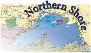 North Shore Lake Superior Map