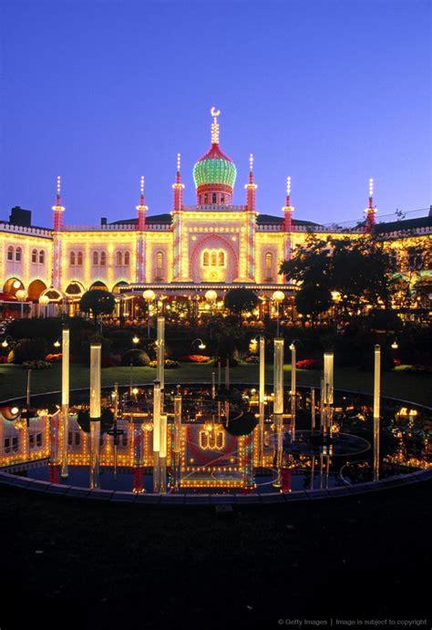 Tivoli Garden Copenhagen Denmark