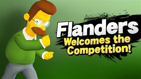 ned flanders  mac super smash bros wii  skin