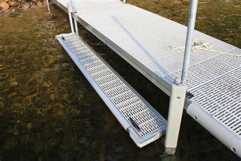 accessories featherlite standard duty aluminum docks