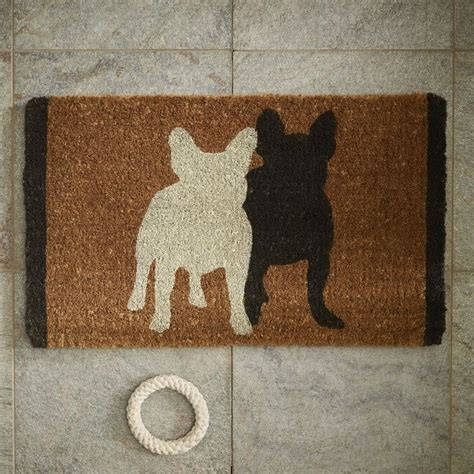 west elm door mat 1000 images about frenchies on bulldog