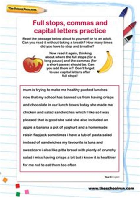 primaryleap co uk capital letters and stops