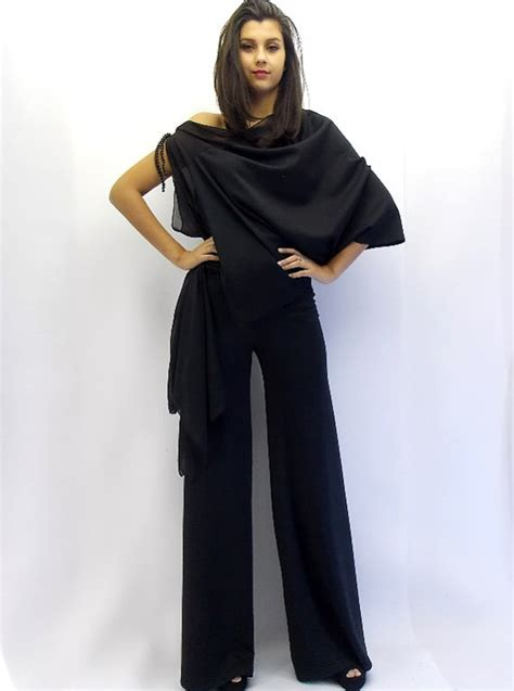 black jumpsuit plus size jumpsuit tj01 teyxo