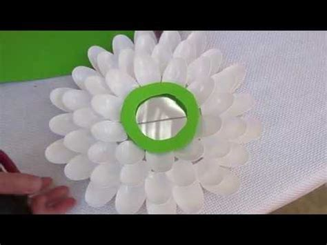 fiori con cucchiai di plastica fiori con i cucchiaini di plastica