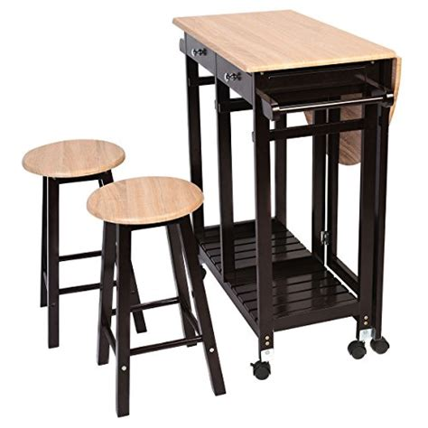 kitchen island with drop leaf table kitchen island rolling cart set dinning drop leaf table