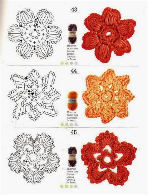 schemi di fiori all uncinetto lo spazio di lilla fiori all uncinetto schemi gratuiti