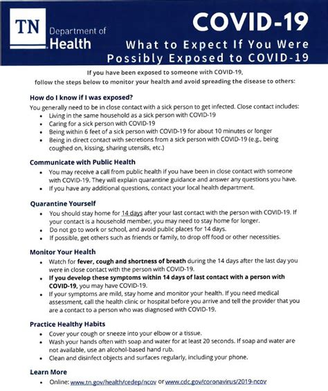 """The project is supported with federal lsta funds administered by the institute of museum and library. TN Department of Health releases """"What to Expect"""" COVID-19 ..."""