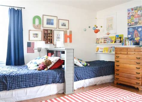 Decorating Ideas For Bedroom Shared By Boy And by 8 Awesome Shared Room Ideas For Boys