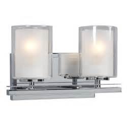 home depot bathroom vanity lights chrome filament design donovan 2 light polished chrome bath