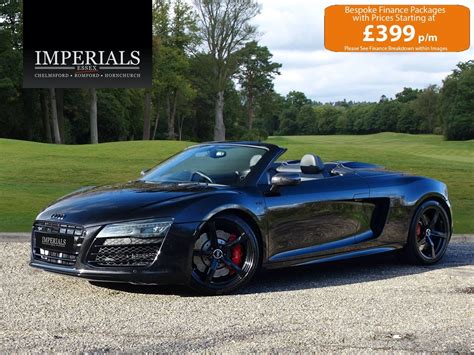 The dashboard, unlike most road cars, is completely digital. 2015 Audi R8 SPYDER 5.2 V10 QUATTRO CABRIOLET S-TRONIC AUTO 66 For Sale | Car And Classic