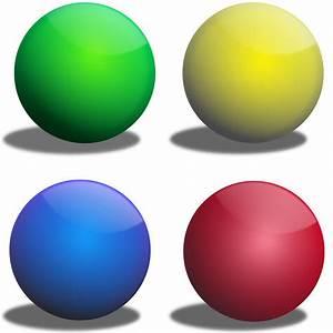 Clipart Color Spheres Esferas De Colores